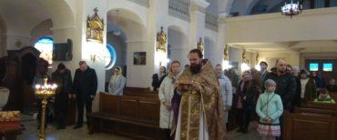 (Polski) 13 kwietnia 2019 r. odbyła się pierwsza Boska Liturgia w Bielsku Białej