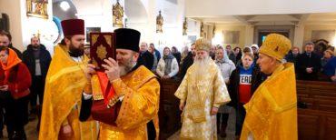 Pierwsza w historii Prawosławna Liturgia sprawowana przez Biskupa w Bielsku Białej.